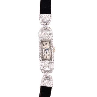 Platinum Diamond Cocktail WatchÊ