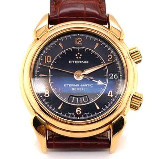 18k Eterna-Matic Alarm WristwatchÊ