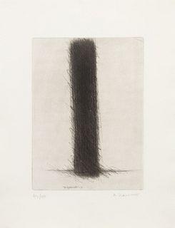 Arnulf Rainer (Austrian, b. 1929) A pair of works from the Stirnstrandwand Portfolio