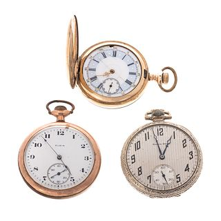 A Trio of Pocket Watches