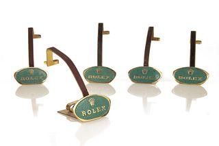 Rolex, Five Dealer Display Stands