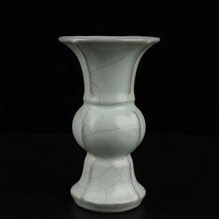 A Official Kiln Porcelain Zun