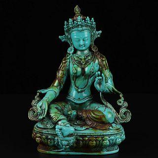 A Kallaite Buddha Statue