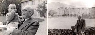 Henri Cartier-Bresson (1908-2004)  - Paul Claudel, years 1940
