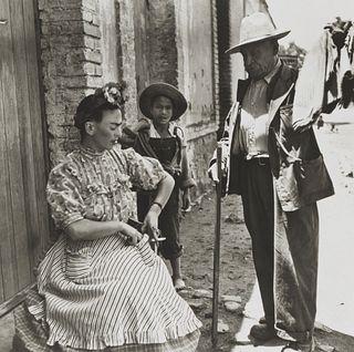 Leo Matiz (1917-1998)  - Frida Kahlo VIII, years 1940