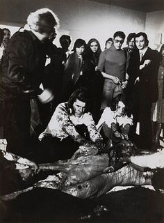 André Morain (1938)  - Untitled (Hermann Nitsch performance), years 1970-1980