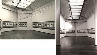 "Aldo Ballo (1928-1994)  - PAC Milan, exhibition ""L'imaginaire d'après nature. Disegni, dipinti, fotografie di Henri Cartier-Bresson"", 1983"
