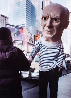 Maurizio Cattelan (Padova 1960)  - Picasso, 2000