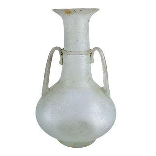 Seguso Scavo Glass Vase