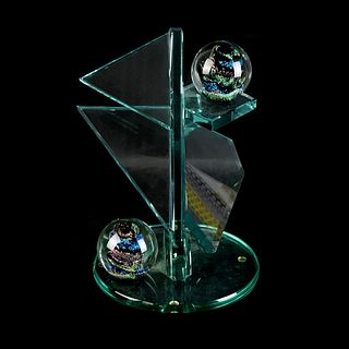 J Anthony Atkins Glass Sculpture