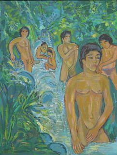 ARIE SMIT   Nude Man Bathing
