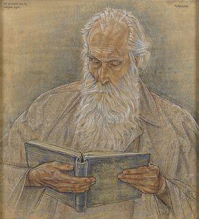 RUDOLF BONNET | The Poet Leo Rikmenspoel