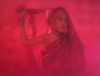 AUNG KYAW HTET   Novice In Red