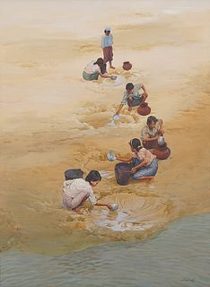 MIN WAE AUNG | Collecting Water