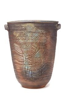 ISKANDAR JALIL   Pottery - Elongated II