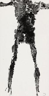 LEE WEN   Anthropometry Revision: INK Series No. 9