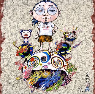 TAKASHI MURAKAMI | Obliterate the Self and Even a Fire is Cool