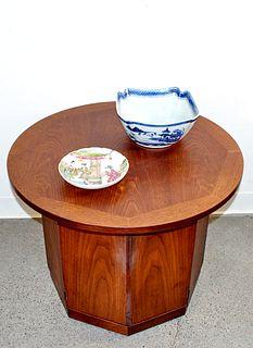 Mid Century Octagonal Side Table