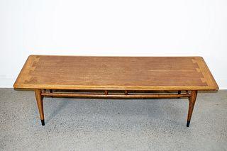 Walnut Coffee Table (Mid Century)