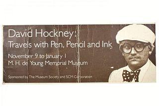 David Hockney (BOOK & EPHEMERA)