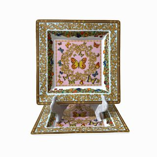 Versace Butterfly Garden Square Trays
