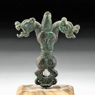 Luristan Bronze Finial - Master of Animals