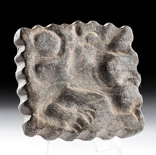 Mesopotamian Stone Stamp w/ Abstract Creature