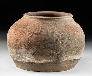 Chinese Warring States Pottery Storage Jar