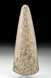 Maya Mottled Stone Celt