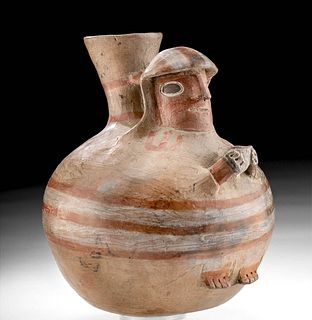 Recuay Polychrome Figural Vessel
