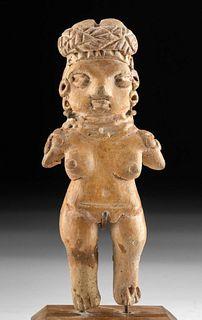 Chupicuaro Pottery Standing Pretty Lady Figure