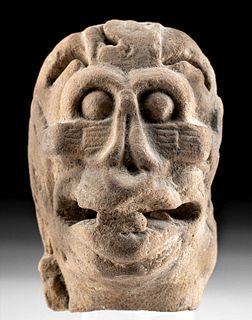 Aztec Pottery Flayed Head