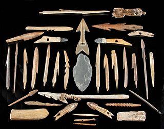 Native American Inuit Artifact Assortment