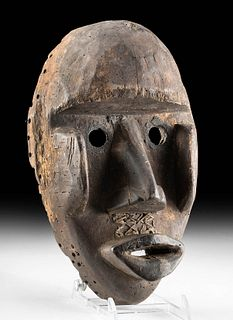 Early 20th C. Dan Wooden Kagle Mask