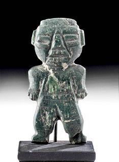Teotihuacan Greenstone Anthropomorphic Idol