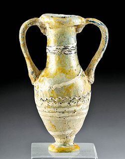 Greek Core Form Glass Amphoriskos
