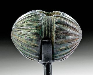 Lethal Luristan Bronze Mace Head