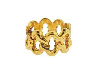Van Cleef & Arpels 18k Gold Band Ring