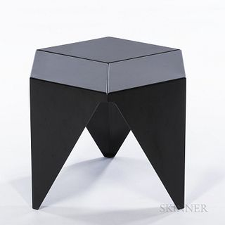 Isamu Noguchi (American, 1904-1988) by Vitra Prismatic Side Table, Germany, 2002, painted metal, with maker's metal label, ht. 15, wd.