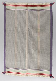David Hicks Area Rug, late 20th century, wool, lg. 76, wd. 56 in.