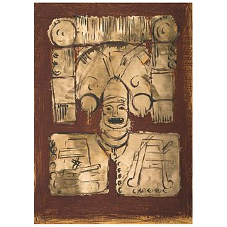 CARMEN PARRA. Sin título. Firmada. Serigrafía 76 / 100. 69 x 50 cm.