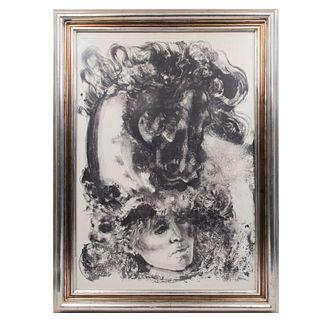 JAVIER RODRÍGUEZ Sin título Sin firma Litografía sin número de tiraje Enmarcado 100 x 70 cm