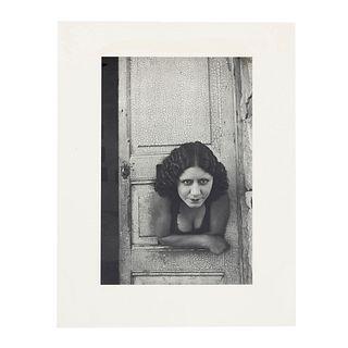 """HENRI CARTIER BRESSON. """"Calle Cuauhtemocztin, Ciudad de México, 1934. Fotograbado. Impreso en Francia ca. 1950."""
