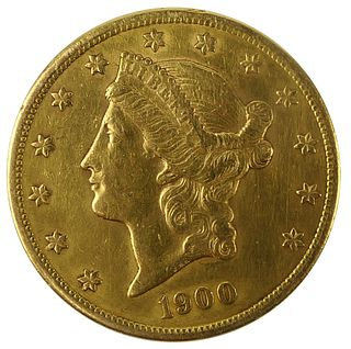 1900 s  $20 LIBERTY GOLD PIECE DOUBLE EAGLE