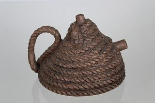 Zhou Dingfang, Coiled Rope Yixing Teapot