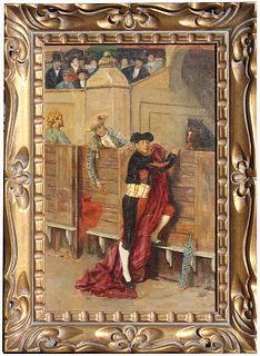 Signed, 19th Century Painting of a Matador