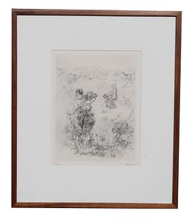 Hans Bellmer (1902-1975) Surrealist Etching