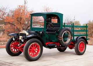 1919 White Model 15, 3/4-Ton Stake Side Truck