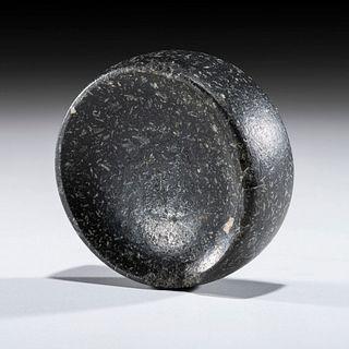 A Granite Discoidal, 2 in.