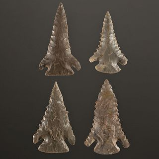 A Group of Pine Tree Points, Largest 2-1/2 in.